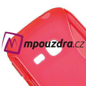 Gélové S-line puzdro na Samsung Galaxy Young S6310- červené - 4