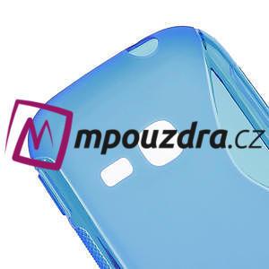 Gélové S-line puzdro na Samsung Galaxy Young S6310- modré - 4