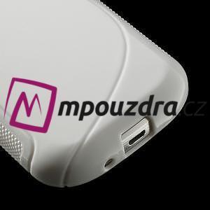 Gélové S-line puzdro pre Samsung Trend plus, S duos- biele - 4