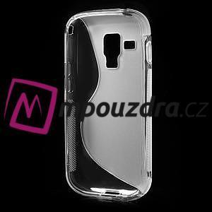 Gélové S-line puzdro pre Samsung Trend plus, S duos- transparentný - 4