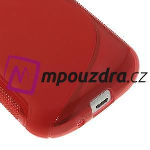 Gélové S-line puzdro pre Samsung Trend plus, S duos- červené - 4
