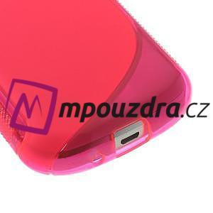 Gélové S-line puzdro pre Samsung Trend plus, S duos- růžové - 4