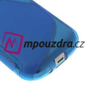 Gélové S-line puzdro pre Samsung Trend plus, S duos- modré - 4