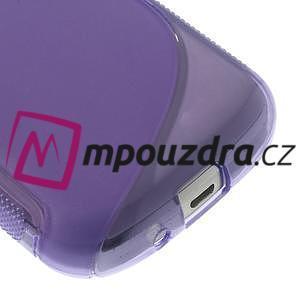 Gélové S-line puzdro pre Samsung Trend plus, S duos- fialové - 4