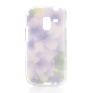 Gélové puzdro na Samsung Galaxy Trend, Duos- elegantný květ - 4