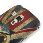 Gélové puzdro na Samsung Trend plus, S duos - UK sova - 4/6