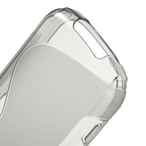 Gélové S-line puzdro pre Samsung Galaxy Xcover 2 S7710- šedé - 4