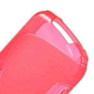 Gélové S-line puzdro na Samsung Galaxy Xcover 2 S7710- růžové - 4