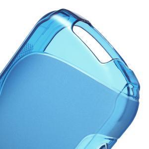 Gélové S-line puzdro na Samsung Galaxy Xcover 2 S7710- modré - 4