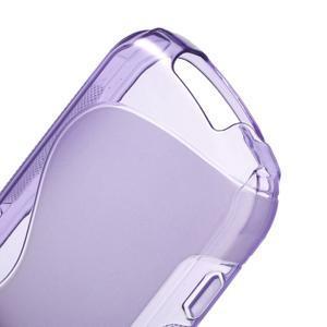 Gélové S-line puzdro pre Samsung Galaxy Xcover 2 S7710- fialové - 4