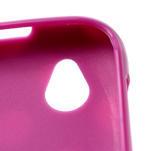 Gélové PUNTÍK puzdro na HTC Desire X- fialový - 4/6
