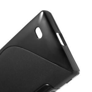 Gélové S-line puzdro na Nokia X dual- čierné - 4