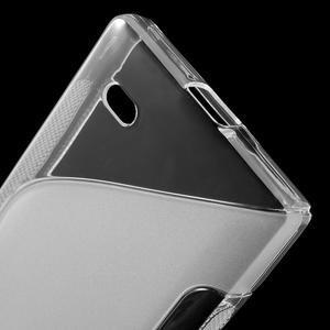Gélové S-line puzdro na Nokia X dual- transparentný - 4