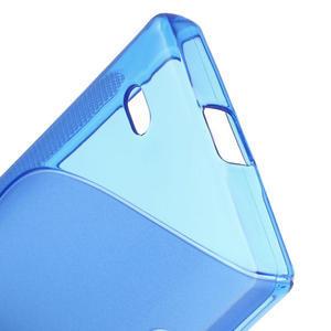 Gélové S-line puzdro na Nokia X dual- modré - 4