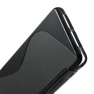 Gélové S-line puzdro na Sony Xperia Z1 Compact D5503- čierné - 4