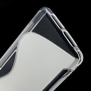 Gélové S-line puzdro na Sony Xperia Z1 Compact D5503- transparentný - 4