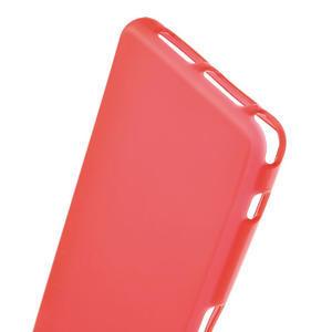 Gélové Ultraslim puzdro pre Sony Xperia Z1 Compact D5503- červené - 4