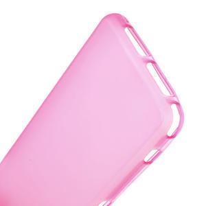 Gélové Ultraslim puzdro pre Sony Xperia Z1 Compact D5503- ružové - 4