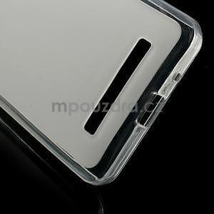 Gélové matné puzdro na Asus Zenfone 5 - transparentný - 4