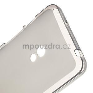 Gélové matné puzdro na Asus Zenfone 5 - šedé - 4