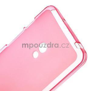Gélové matné puzdro pre Asus Zenfone 5 - ružové - 4