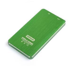 Slim GX externí nabíjačka PoweBank 5 000 mAh - zelená - 4