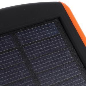 CEX solární externí nabíjačka 6 000 mAh - oranžová - 4