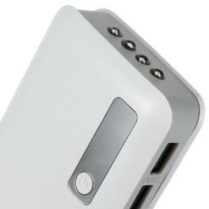 Vysokokapacitní externí nabíjačka PowerBank GT 11 800 mAh - bílá - 4