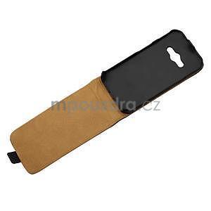 Flipové puzdro na Samsung Galaxy Xcover 3 - čierné - 4