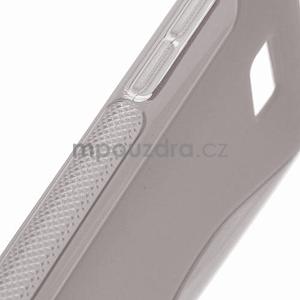 Gélové S-line puzdro pre HTC Desire 600- šedé - 4