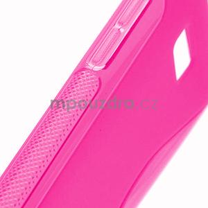 Gélové S-line puzdro pre HTC Desire 600- růžové - 4