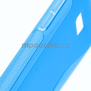 Gélové S-line puzdro pre HTC Desire 600- modré - 4