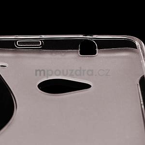 Gélové S-line puzdro pre HTC one M7- šedé - 4