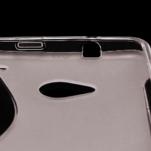 Gélové S-line puzdro pre HTC one M7- šedé - 4/6