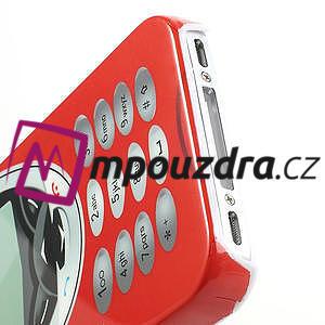 Telefon plastové puzdro na iPhone 4 4S - 4