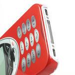 Telefon plastové puzdro na iPhone 4 4S - 4/5