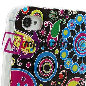 Gélové puzdro na iPhone 4 4S - vzorové - 4