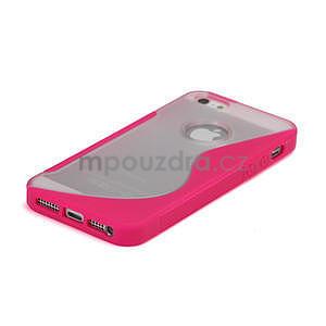 S-line hybrid puzdro pre iPhone 5, 5s- růžové - 4