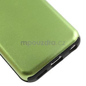Gélové metalické puzdro pre iPhone 5C- zelené - 4
