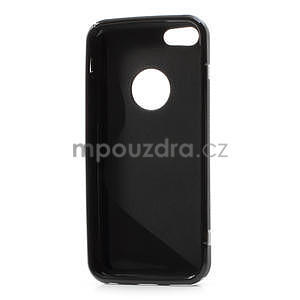 Gélové S-line puzdro pre iPhone 5C- čierné - 4