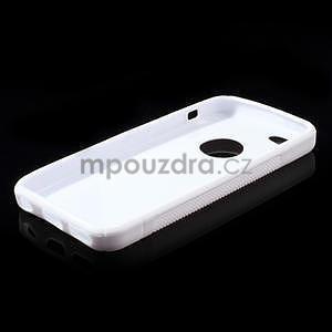 Gélové S-line puzdro pre iPhone 5C- biele - 4