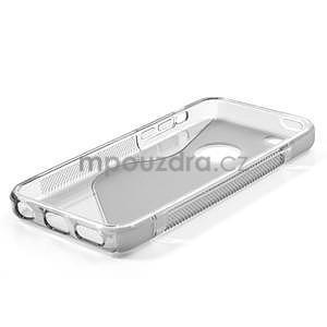 Gélové S-line puzdro pre iPhone 5C- šedé - 4