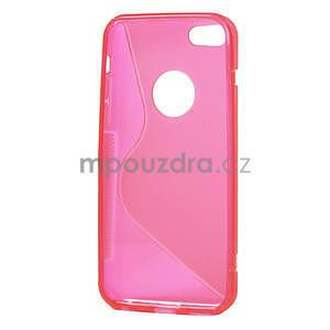 Gélové S-line puzdro pre iPhone 5C- růžové - 4