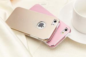 Hliníkové puzdro na iPhone 5, 5s- růžové - 4