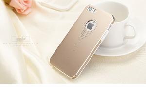 Hliníkové puzdro na iPhone 5, 5s- zlaté - 4