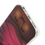 Gélové puzdro pre iPhone 5, 5s- Cherry - 4/5
