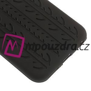 silikónové pneu na iPhone 6, 4.7 - čierné - 4