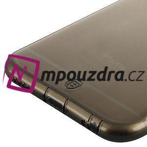 Ultra slim 0.7 mm gélové puzdro na iPhone 6, 4.7  - šedé - 4