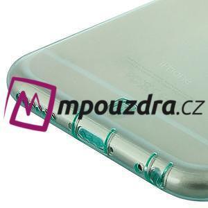Ultra slim 0.7 mm gélové puzdro pre iPhone 6, 4.7  - modré - 4