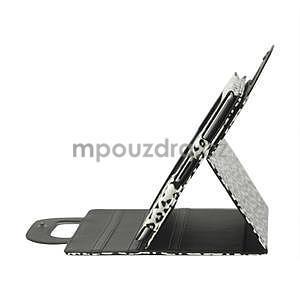Leopard puzdro pre iPad 2, 3, 4- biele - 4
